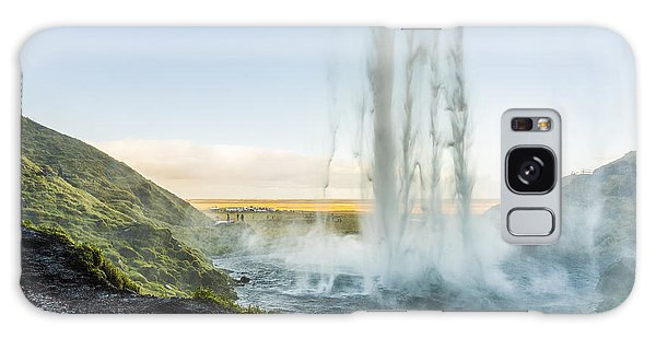 Galaxy Case featuring the photograph Behind Seljalandsfoss by James Billings