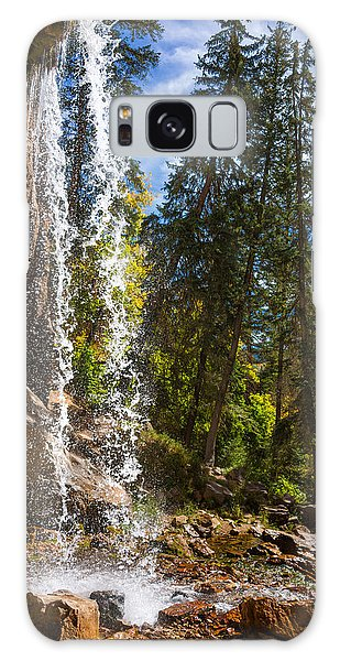 Co Galaxy S8 Case - Behind Spouting Rock Waterfall - Hanging Lake - Glenwood Canyon Colorado by Brian Harig