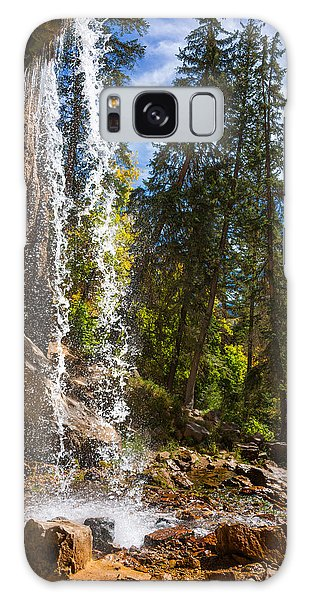Behind Spouting Rock Waterfall - Hanging Lake - Glenwood Canyon Colorado Galaxy Case by Brian Harig