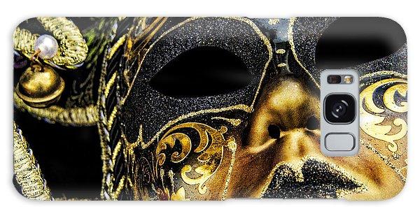 Behind The Mask Galaxy Case by Carolyn Marshall