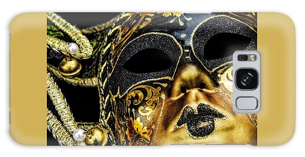 Galaxy Case featuring the photograph Behind The Mask by Carolyn Marshall