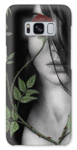 Behind What Beholds The Eye Galaxy Case by Pat Erickson
