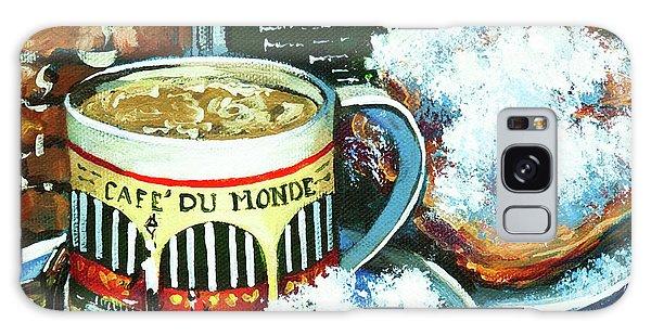 Beignets And Cafe Au Lait Galaxy Case