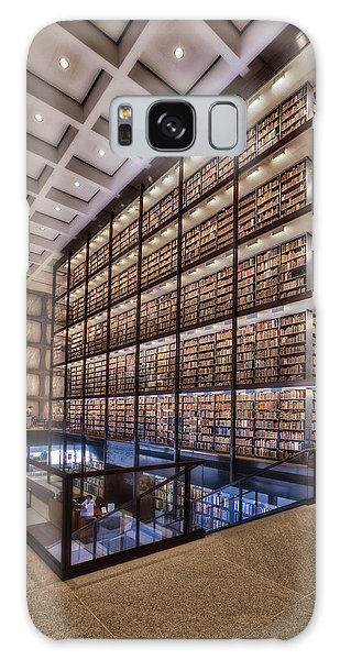 Beinecke Rare Book And Manuscript Library Galaxy Case