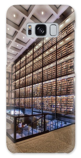 Galaxy Case featuring the photograph Beinecke Rare Book And Manuscript Library by Susan Candelario