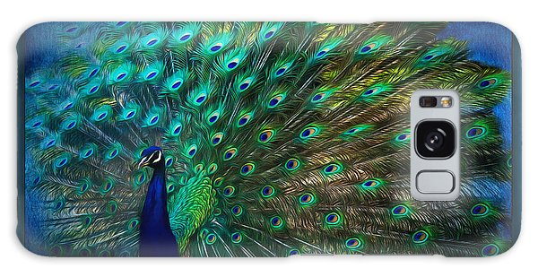 Being Yourself - Peacock Art Galaxy Case