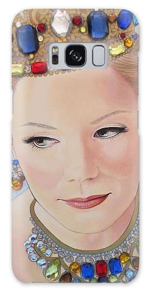 Bejeweled Beauties - Brittany Galaxy Case by Malinda Prudhomme