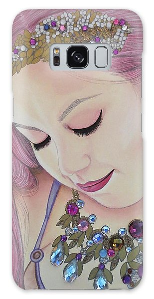 Bejeweled Beauties - Caitlin Galaxy Case