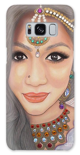 Bejeweled Beauties - Chandni Galaxy Case by Malinda Prudhomme