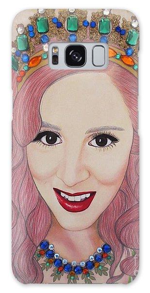 Bejeweled Beauties - Katrina Galaxy Case by Malinda Prud'homme