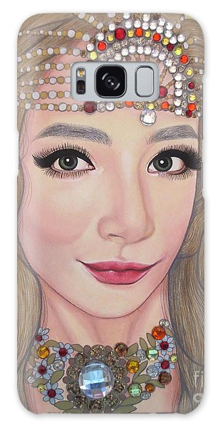 Bejeweled Beauties - Lucy Galaxy Case by Malinda Prudhomme