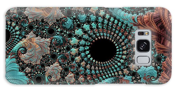 Bejeweled Fractal Galaxy Case by Bonnie Bruno