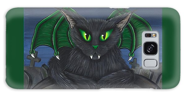 Bela Vampire Cat Galaxy Case by Carrie Hawks