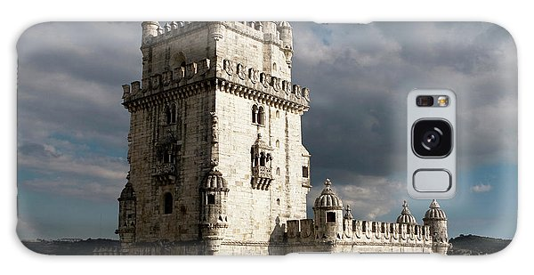 Galaxy Case featuring the photograph Belem Tower In Color by Lorraine Devon Wilke