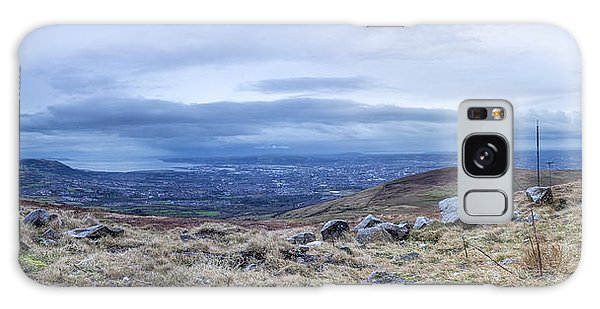 Belfast Lough From Divis Mountain Galaxy Case