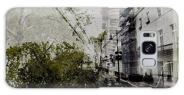 Belgravia Row Houses Galaxy Case by Karen McKenzie McAdoo