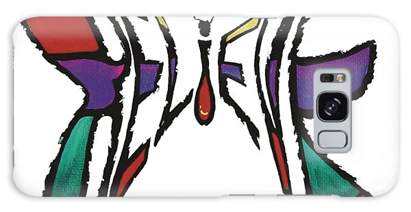 Galaxy Case featuring the painting Believe-butterfly by Sandy Dusek