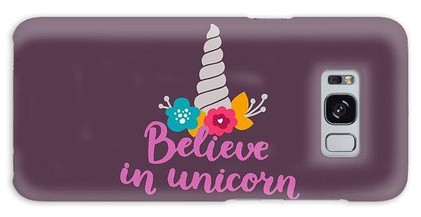 Believe In Unicorn Galaxy Case