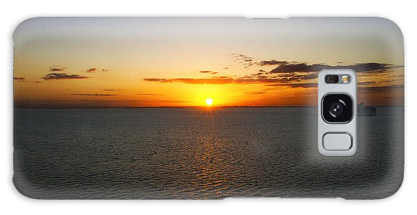 Belize Sunset Galaxy Case