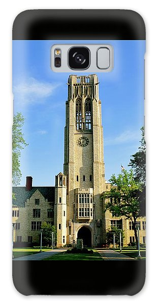 Bell Tower At The University Of Toledo Galaxy Case