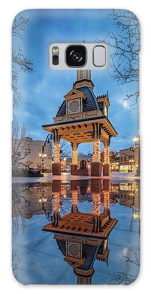Bell Tower  In Beaver  Galaxy Case by Emmanuel Panagiotakis