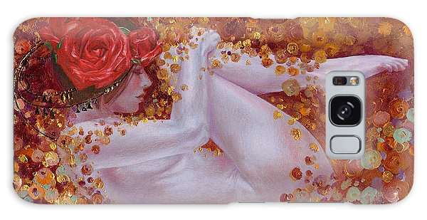 Bella Rose Galaxy Case by Ragen Mendenhall