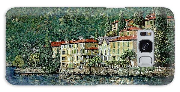 Lake Galaxy Case - Bellano On Lake Como by Guido Borelli