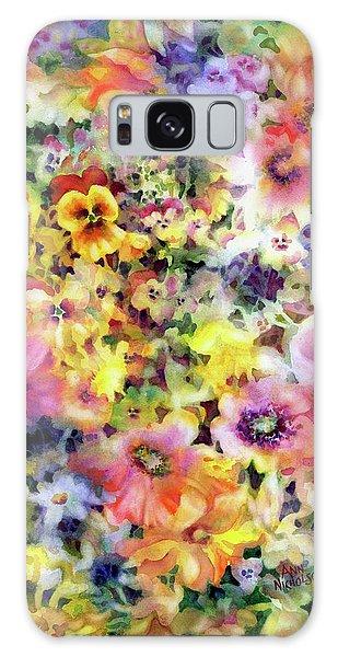 Belle Fleurs I Galaxy Case