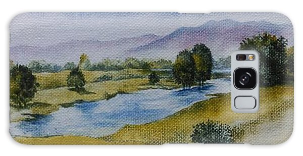 Bellinger Valley In Spring Galaxy Case