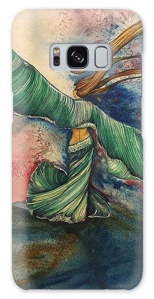 Belly Dancer With Wings  Galaxy Case