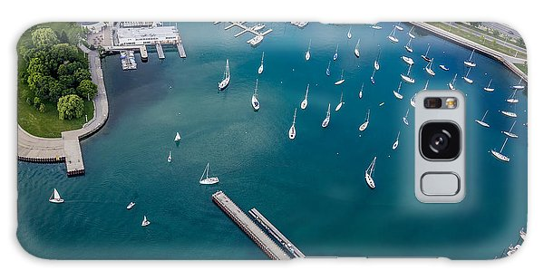 Chicago Art Galaxy Case - Belmont Harbor by Adam Romanowicz