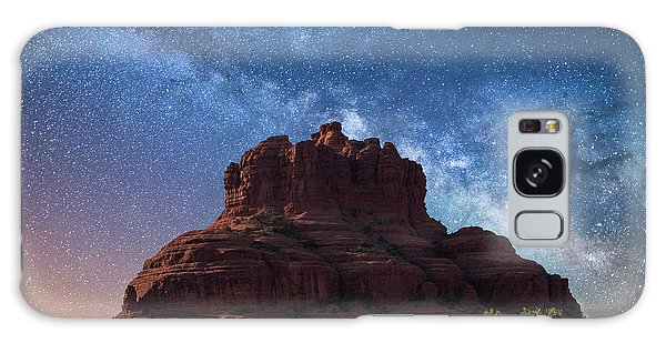 Below The Milky Way At Bell Rock Galaxy Case