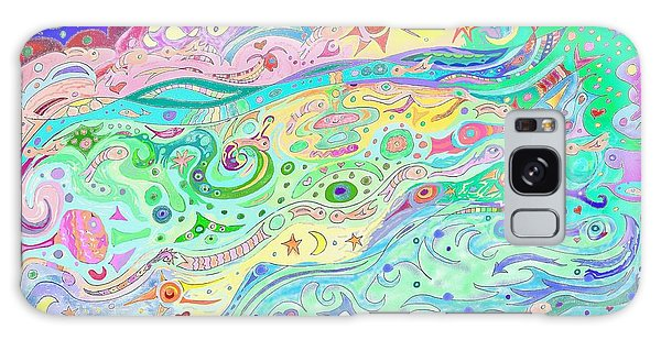 Beltaine Seashore Dreaming Galaxy Case