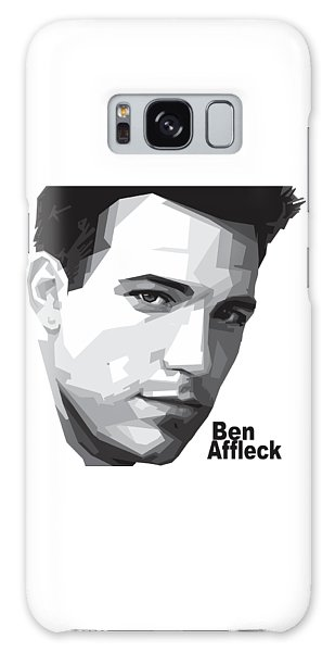 Ben Affleck Portrait Art Galaxy S8 Case