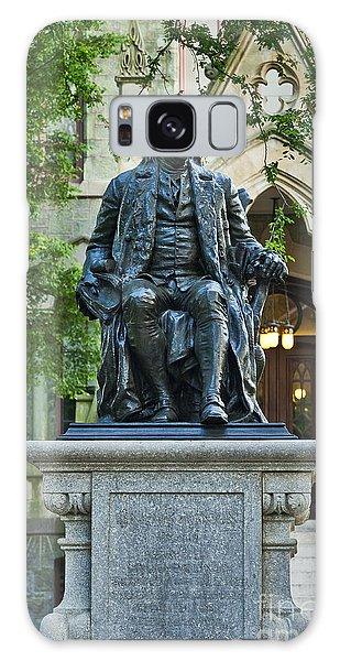Ben Franklin At The University Of Pennsylvania Galaxy Case