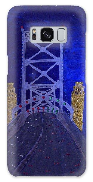 Ben Franklin Bridge Galaxy Case