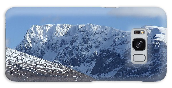 Galaxy Case - Ben Nevis North Face by Phil Banks