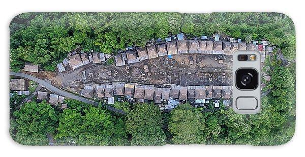 Galaxy Case featuring the photograph Bena Tribal Village - Flores, Indonesia by Pradeep Raja PRINTS