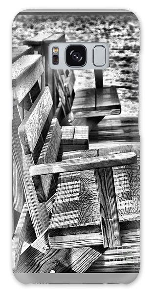 Benches By The Sea Galaxy Case