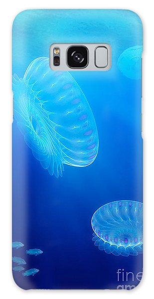 Fractal Design Galaxy Case - Beneath A Fractal Sea by John Edwards