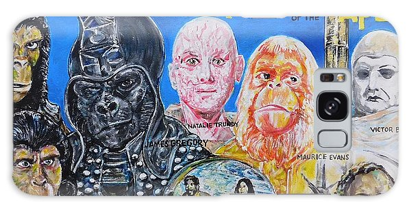 Beneath The Planet Of The Apes - 1970 Lobby Card That Never Was Galaxy Case