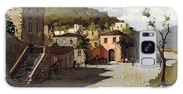 Provincia Di Benevento-italy Small Town The Road Home Galaxy Case