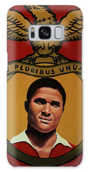 Pele Galaxy Case - Benfica Lisbon Painting by Paul Meijering