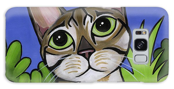 Bengal Beauty Galaxy Case by Leanne Wilkes