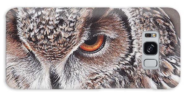Bengal Eagle Owl Galaxy Case