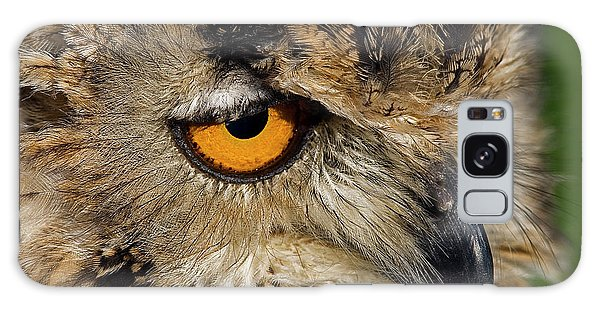 Bengal Eagle Owl Galaxy Case