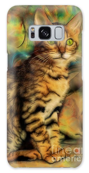 Bengal Kitten Galaxy Case