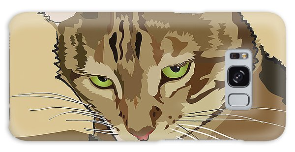 Bengal Kitty Pet Portrait Galaxy Case