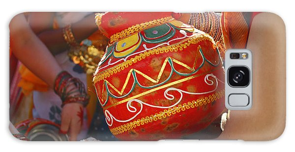 Bengali Maiden Dancers With Water Jars Galaxy Case by Charline Xia