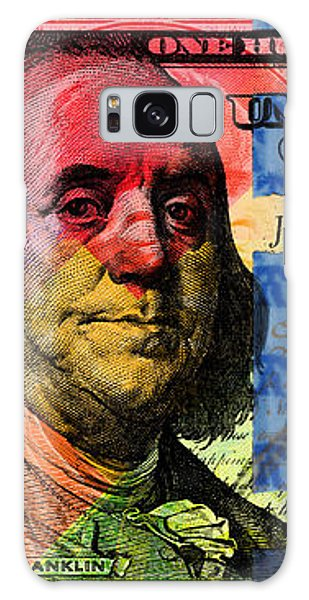 Benjamin Franklin $100 Bill - Full Size Galaxy Case